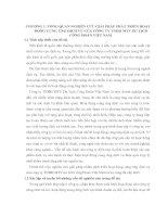 GIẢI PHÁP PHÁT TRIỂN HOẠT ĐỘNG CUNG ỨNG DỊCH VỤ CỦA CÔNG TY TNHH MTV DU LỊCH CÔNG ĐOÀN VIỆT NAM