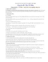 Ôn thi TN12 - Chuyên đề Tố Hữu (Trọn bộ)
