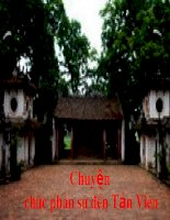 Chuyen chuc phan su den Tan Vien