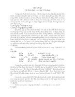 LÝ THUYẾT LẬP TRÌNH CƠ BẢN (8051)_ CHƯƠNG 3