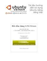 Tài liệu hướng dẫn sử dụng ubuntu bằng tiếng việt