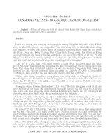 Tìm hiẻu Công Đoàn Việt Nam (có đáp án)