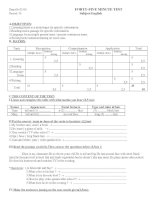 TEST 3 - ENGLISH 6 (JAP)