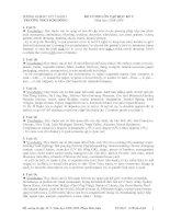 Đề cương ôn tập AV8 học kỳ 2 (Full)