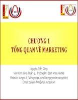 Tổng quan về marketing