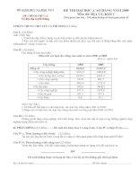 Đề thi ĐH 002 - Tư liệu địa lí phổ thông