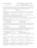 Đề thi thử ĐH 2009 (có đáp án) lần 14