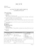 giáo án ngữ văn 7 kì 2