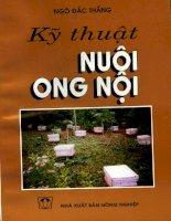 Kỹ thuật nuôi ong nội part 1