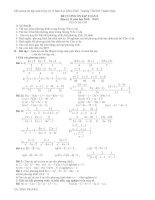 Bài tập về giải bài toan bằng cách lập phương trình