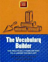 The vocabulary builder : The Practically Painless Way to a Larger Vocabulary