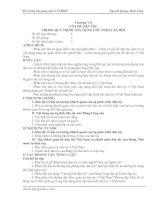 Chương VII. Vấn đề dân tộc trong quá trình xây dựng CNXH