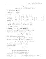 Tính toán sự cháy của nhiêu liệu