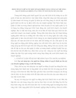 PHÂN TÍCH VÀ ĐỀ XUẤT MỘT SỐ GIẢI PHÁP TĂNG CƯỜNG SAY MÊ SÁNG TẠO Ở NGƯỜI LAO ĐỘNG CỦA CÔNG TY XÂY DỰNG SỐ 1 HÀ NỘI