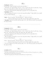 Tài liệu bồi dưỡng HS giỏi văn 9