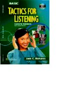 BASIC TACTICS FOR LISTENING (2nd Edition)