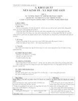 Giáo án địa lí lớp 11