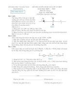 đềthi và đáp an vạt lý thi vào 10 (D)
