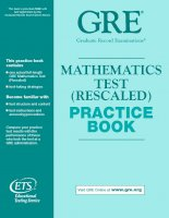 GRE   mathematics test