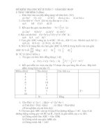 đề thi học kỳ 2 - 7 ( -08 - 09 ) de 2