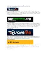 6 kho lưu trữ dữ liệu trực tuyến miễn phí hữu ích