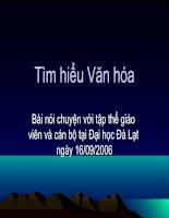Tailieu Vanhoa