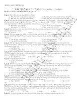 Bài tập vật lý 11( Phần từ trường)