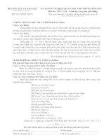 ĐỀ THI TỐT NGHIỆP TRUNG HỌC PHỔ THÔNG NĂM 2013Môn NGỮ VĂN − Giáo dục trung học phổ thông