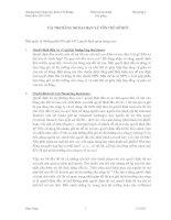 Kinh tế fulbright PHÂN TÍCH tài CHÍNH bài giảng 9