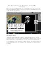 Hướng dẫn sử dụng photoshop CS5   phần 7thiết kế và trình bày với type character panel