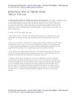 Binh pháp tôn tử trong nghệ thuật cưa gái