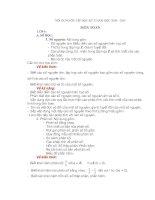 Đề cương ôn tập Khối 6 của PGD (Đầy đủ)