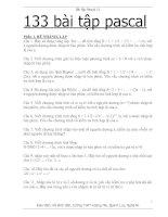 Bài tập Pascal11(133 câu chưa đáp án)