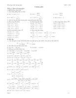Tuyển tập các dạng bài luyện thi ĐH lượng giác
