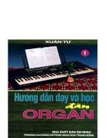 Hướng dẫn dạy và học đàn organ