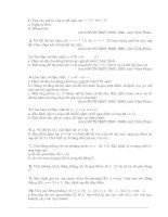 Ôn rthi vào 10 (các bài toán về hàm số)