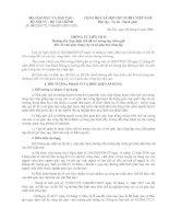 CV trả lương dạy thêm giờ cho GV (CV Số: 50/2008/TTLT-BGDĐT-BNV-BTC ngày 09-09-2008)
