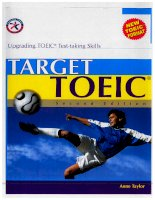 Target TOEIC, second edition upgrading TOEIC test taking skills
