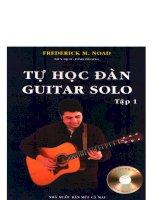 Tự học đàn guitar solo tập 1 part 1