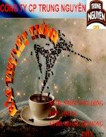 Bài thuyết trình về cà phê trung nguyên