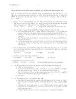 300 câu trắc nghiệm hóa vô cơ THPT