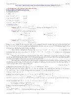 Công thức phương trình, bất phương trình, hệ phương trình vô thức