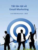 Ebook Email Marketing toàn tập - Tiếng Việt