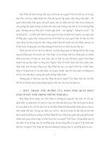 THỰC TRANG ẢNH HƯỞNG CỦA NHÂN SINH QUAN PHẬT GIÁO Ở VIỆT NAM TRONG NHỮNG NĂM QUA