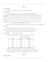 Bộ đề thi HSG địa lý 9
