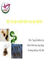 Sinh học và kỹ thuật nuôi luân trùng
