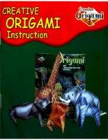 Nghệ thuật xếp hình Nhật Bản: Creative origami intruction