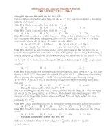 1000 câu hỏi trac nghiem VL ôn thi vào ĐHCĐ Phần 2.doc