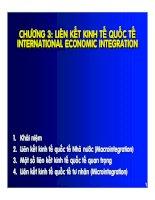 Quản trị kinh doanh quốc tế  chương 3