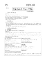 Giáo án ngữ văn 6 (cả năm)